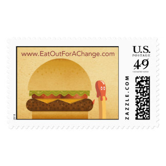 Eat Out For A Change Stamps