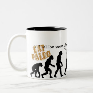Eat Paleo Two-Tone Coffee Mug