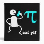 Eat pi 3 ring binders