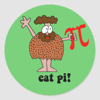 eat Pi Stickers
