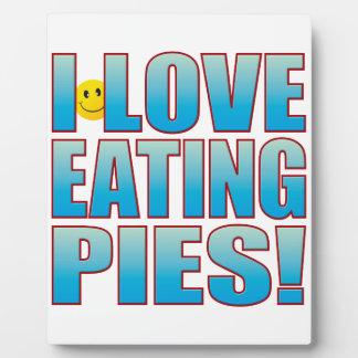 Eat Pies Life B Plaque