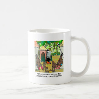 Eat Pizza Delivery Man Classic White Coffee Mug