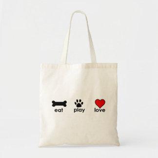 Eat Play Love Bag