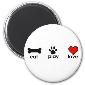 Eat.Play.Love. Magnet