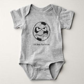 Eat.Play.Sleep.Soccer Baby Body Jumpsuit Baby Bodysuit