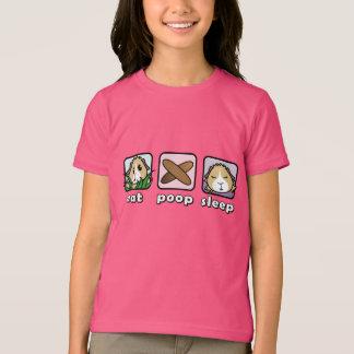 Eat Poop Sleep Guinea Pig Children's T-Shirt