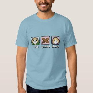 Eat Poop Sleep Guinea Pig Men's T-Shirt