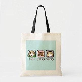 Eat Poop Sleep Guinea Pig Shopping Bag