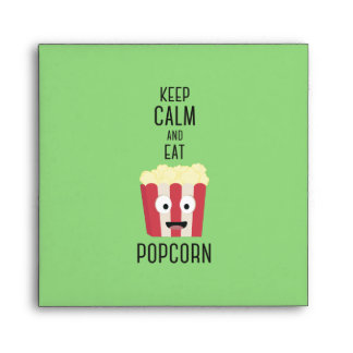 Eat Popcorn Z6pky Envelope