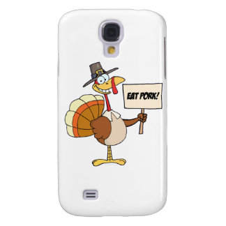 Eat Pork Samsung Galaxy S4 Cover
