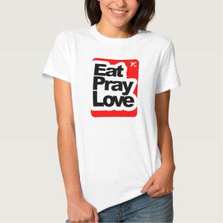 Eat Pray Love and Travel Shirts