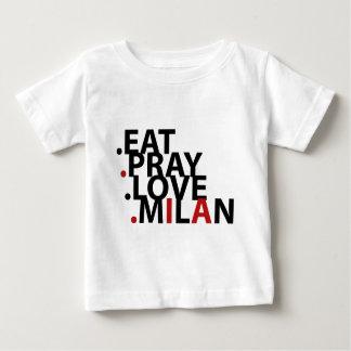 eat pray love milan baby T-Shirt