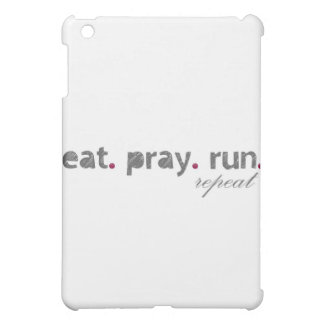 eat. pray. run. IPad Case