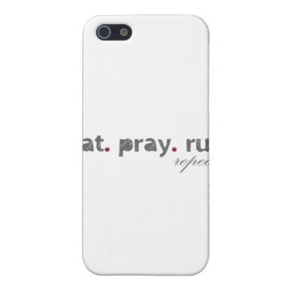 eat. pray. run. IPad Speck Case iPhone 5 Cover