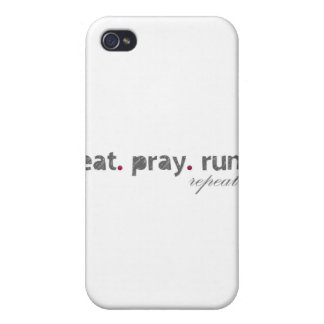 eat. pray. run. IPad Speck Case Covers For iPhone 4