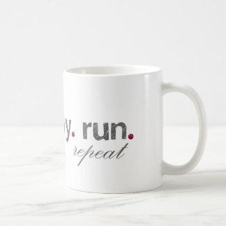 eat. pray. run. Mug