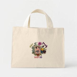eat pray vote sarah palin mini tote bag