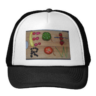 Eat Raw! Mesh Hat