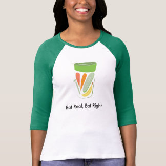 Eat Real, Eat Right Smoothie T-Shirt