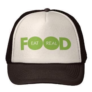 Eat Real Food Trucker Hat