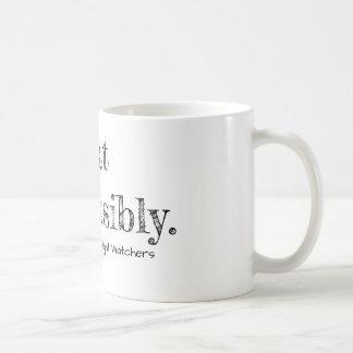 Eat responsibly. Mug
