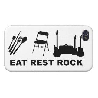 Eat Rest Rock iPhone 4 Cases