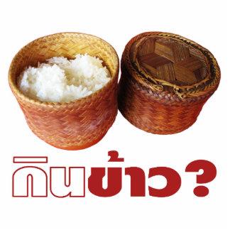 Eat Rice? [Gin Khao?] ... Thai Isan Lao Food Cutout