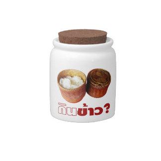 Eat Rice? [Gin Khao?] ... Thai Lao Isan Food Candy Jars
