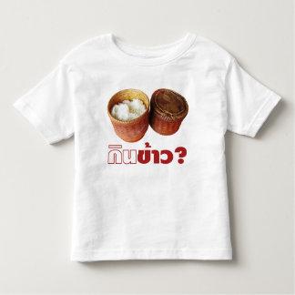 Eat Rice? [Gin Khao?] ... Thai Lao Isan Food Toddler T-shirt