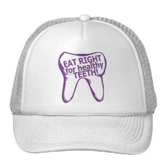 Eat Right for healthy teeth! Hat