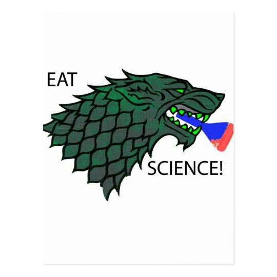 Eat Science!!! Postcard