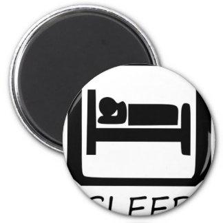 EAT SLEEP3 MAGNET