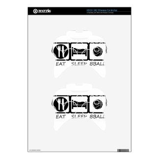 EAT SLEEP5 XBOX 360 CONTROLLER DECAL