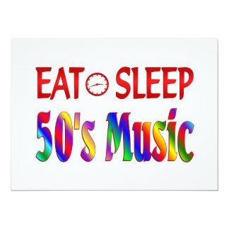 Eat Sleep 50's Music Announcements