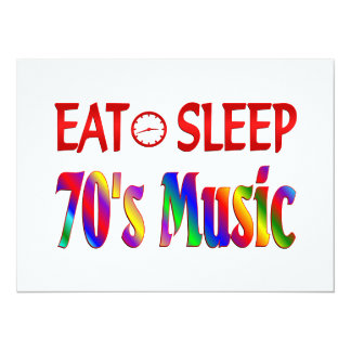 Eat Sleep 70's Music Announcements