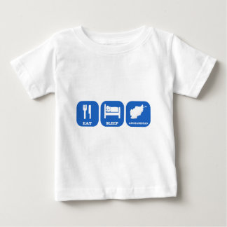 Eat Sleep Afghanistan Baby T-Shirt