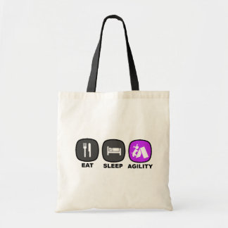 Eat. Sleep. Agility. Purple. Bag