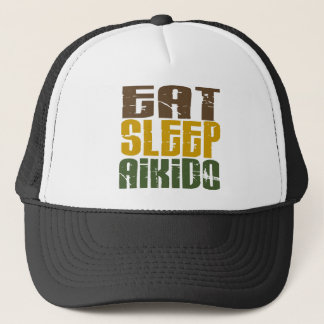 Eat Sleep Aikido 1 Trucker Hat