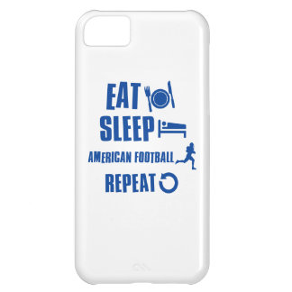 Eat sleep American football iPhone 5C Cover
