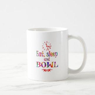 Eat, Sleep and Bowl Mug