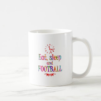 Eat, Sleep and Football Mugs