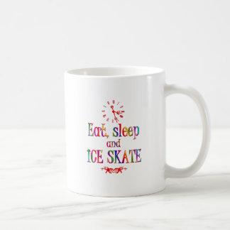 Eat, Sleep and Ice Skate Mugs