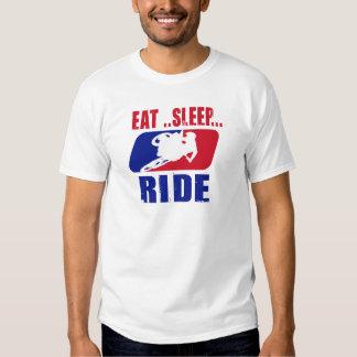 Eat Sleep and ride Tshirt