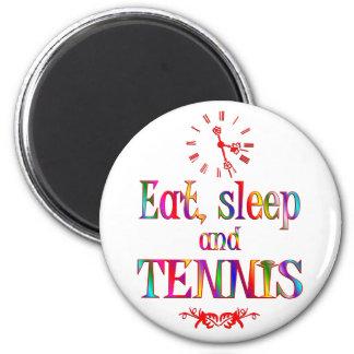 Eat, Sleep and Tennis Magnets