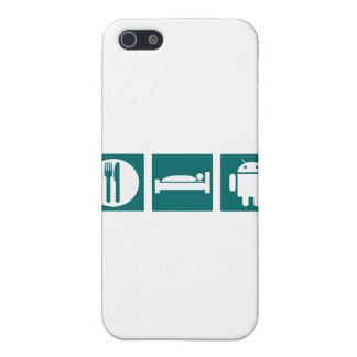 Eat Sleep Android Covers For iPhone 5