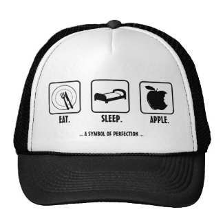 Eat. Sleep. Apple. Trucker Hats