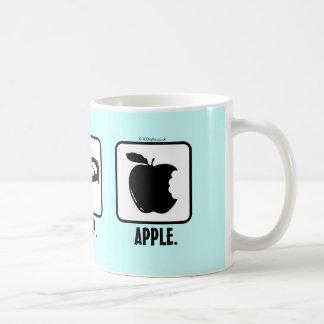 Eat. Sleep. Apple. Coffee Mugs