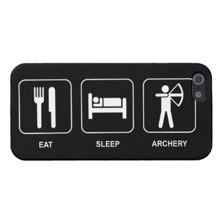 Eat Sleep Archery Case For iPhone SE/5/5s