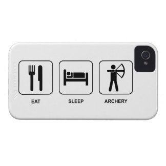 Eat Sleep Archery Case-Mate iPhone 4 Case