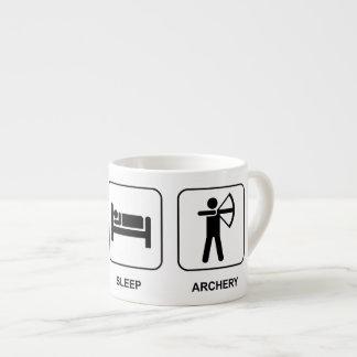 Eat Sleep Archery Espresso Cup